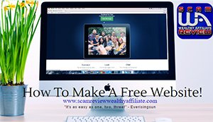How To Make A Free Website in Wealthy Affiliate