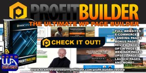 Profit Builder Review Website Builder Software